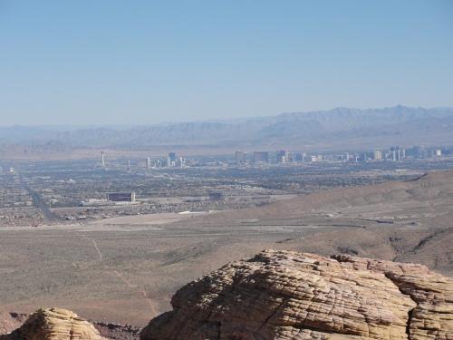 Las Vegas from afar